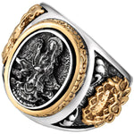 Bague dragon bouddhiste