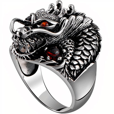 Bague dragon divin