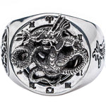 Bague dragon Feng Shui