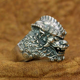 Bague dragon tigre