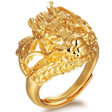 Bague Or Dragon