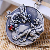 Collier Dragon Et Tigre