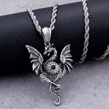 Collier Dragon Steampunk