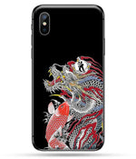 Coque Dragon Carpe Koï