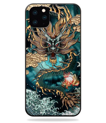 Coque Dragon Chinois iPhone