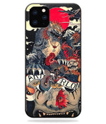 Coque Dragon<br> Lion Impérial (iPhone)
