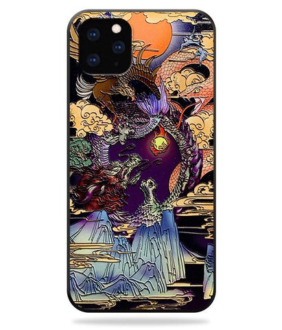 Coque Dragon Serpent Chinois