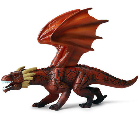 Figurine De Dragon Rouge
