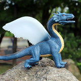 Figurine Dragon Bleu