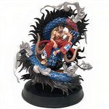 Figurine dragon luffy vs kaido