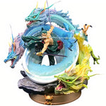 Figurine dragon roronoa zoro one piece