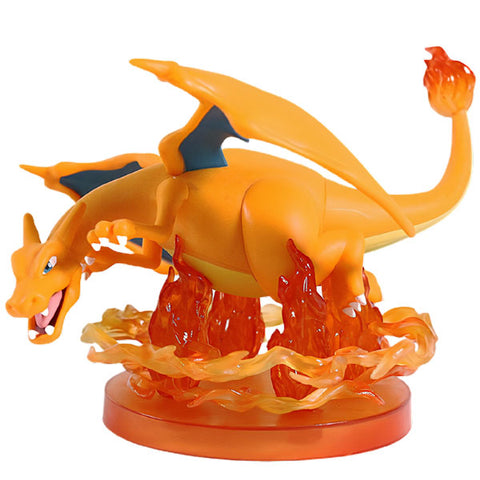 Figurine pokemon dragon feu