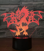 Lampe Dragon De Feu