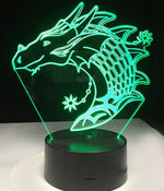 Lampe Dragon Haku