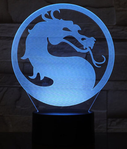 Lampe Dragon Mortal Kombat