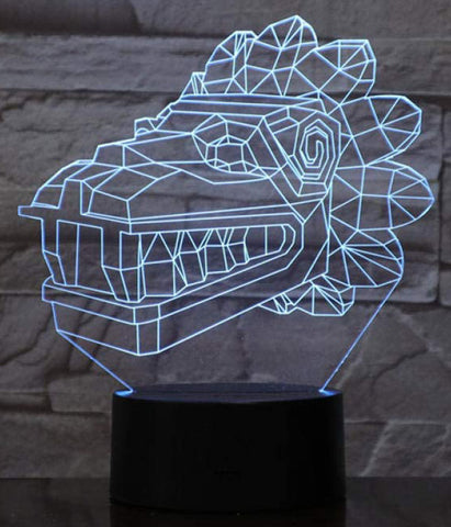 Lampe Dragon Tribal