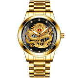 Montre dragon homme