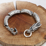 Bracelet Dragon<br> Original Argent