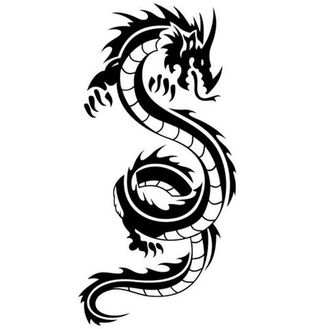 Stickers Dragon Chinois Muraux