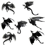 Stickers Muraux Dragon