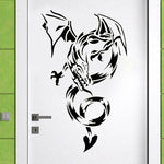 Stickers Muraux Dragons
