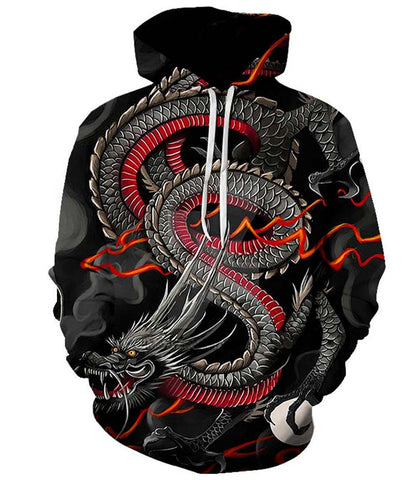 Sweat dragon japonais