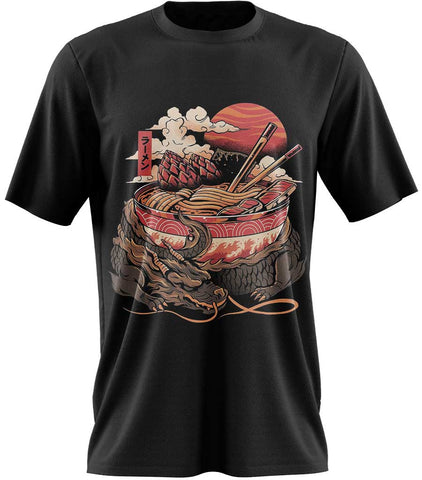 t-shirt dragon chinois