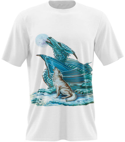 t-shirt dragon de glace