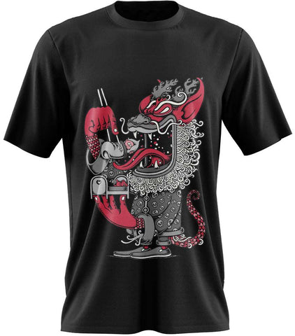 T-Shirt Dragon<br> Japonais