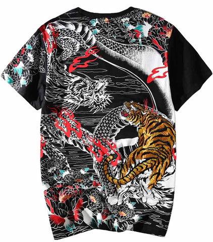 T-Shirt Dragon Tigre