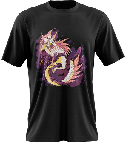 t-shirt geek dragon