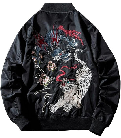Veste dragon tigre