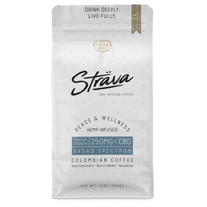 REGULAR STRENGTH CBD COFFEE (Whole Beans)