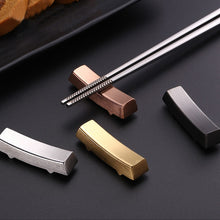Load image into Gallery viewer, Stainless Steel Chopstick Rests (1 pc)