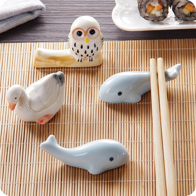 Cute Ceramic Chopstick Rests (1 pc)