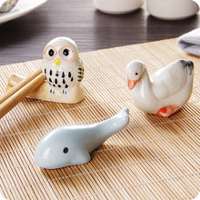 Load image into Gallery viewer, Cute Ceramic Chopstick Rests (1 pc)