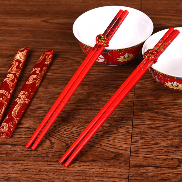 Double Happiness Chopsticks (2 pairs)