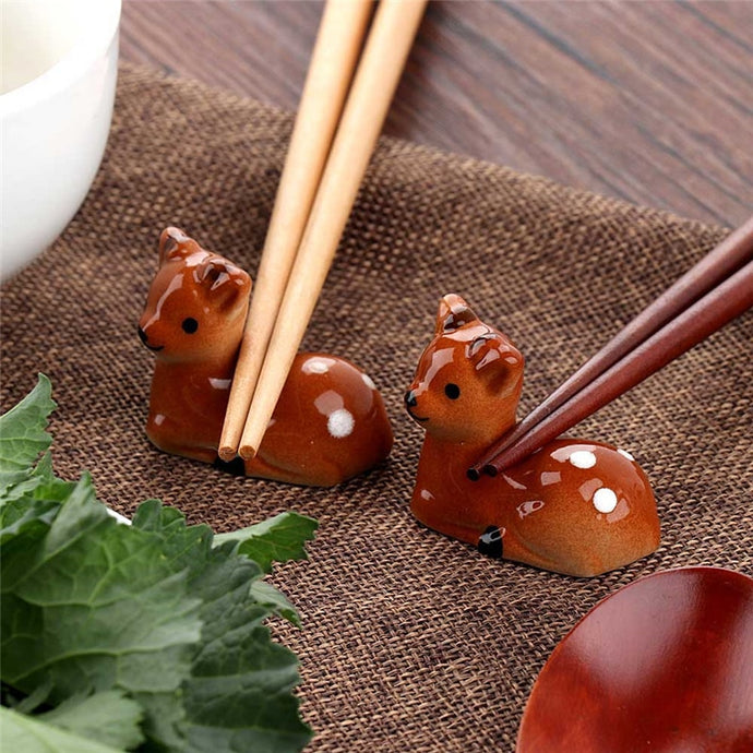 Cute Deer Chopstick Rest (1 pc)