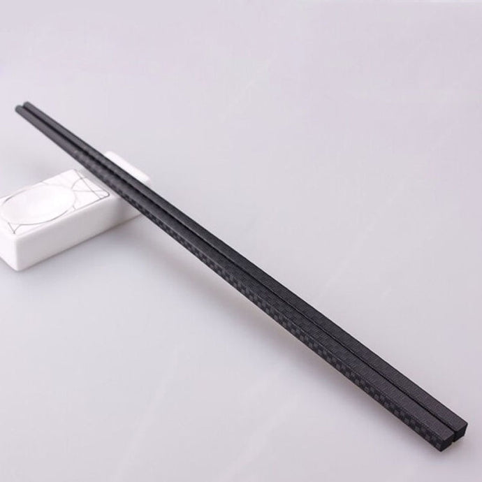 Alloy Non-Slip Chopsticks with Ornate Decorations