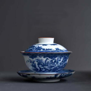 Chinese Porcelain Tea Set C (3 pcs)