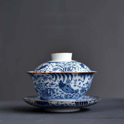 Chinese Porcelain Tea Set A (3 pcs)