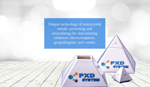 PXD System - producing the life-long products for protection against electromagnetic, pathogenic and cosmic radiation. The products are certified and tested by several international health organizations.