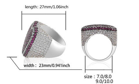 statement mens diamond rings