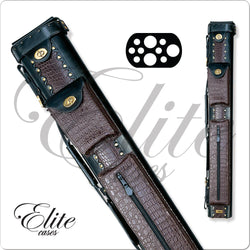 Elite Leather Hard Cue Case 3x7 ECL37