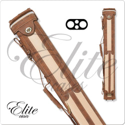 Elite Vintage Leather Cue Case 2x2 ECV22