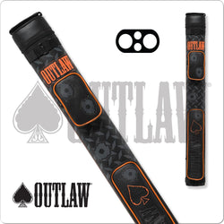 Outlaw Hard Cue Case Stitch Bullet Hole OLB22F 2x2