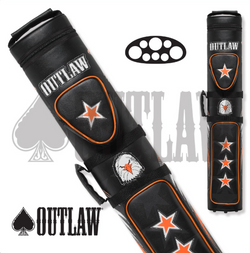 Outlaw Hard Cue Case Stitch Eagle OLB35C 3x5