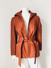 Learsi Vintage Leather Hoodie - Closet Freekz