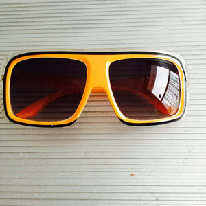 Vintage Race Day (Hot Orange) - Closet Freekz