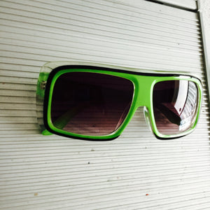 Vintage Race Day (Lime Green) - Closet Freekz